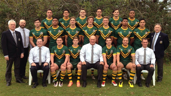 2016 Australian Schoolboys (Photo: ASSRL)