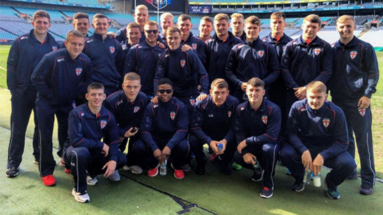 England Academy squad (Photo: England RL)