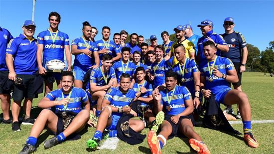 Parramatta Eels - 2016 Harold Matthews Cup winners