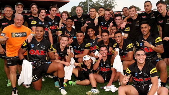 Penrith Panthers - 2016 SG Ball and National Final winners (Photo: Shane Myers)