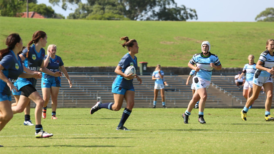 First ever Tarsha Gale Cup match (Photo: NSWRL)